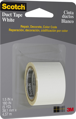 CLOTH/DUCT TAPE - WHITE - 38.1mm x 4.31m