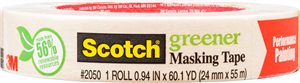 3 DAY GREENER MASKING TAPE - SCOTCH 3M