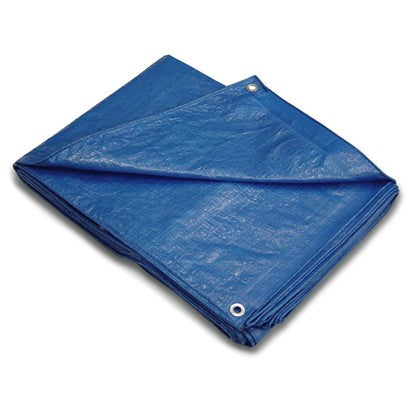 TARPAULIN MEDIUM DUTY 5.5m x 7.3m POLYTUF
