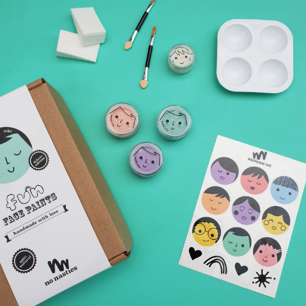 No Nasties - Deluxe Fun Face Paint Box