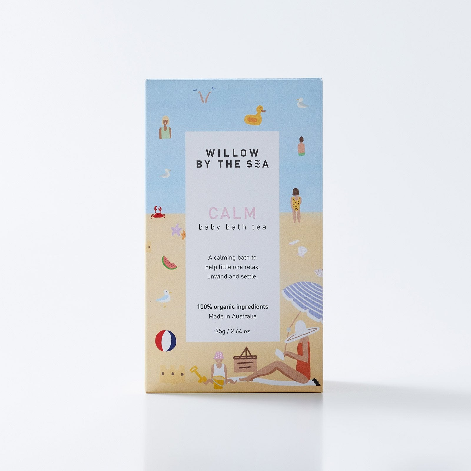 Willow By The Sea - Calm Baby Bath Tea