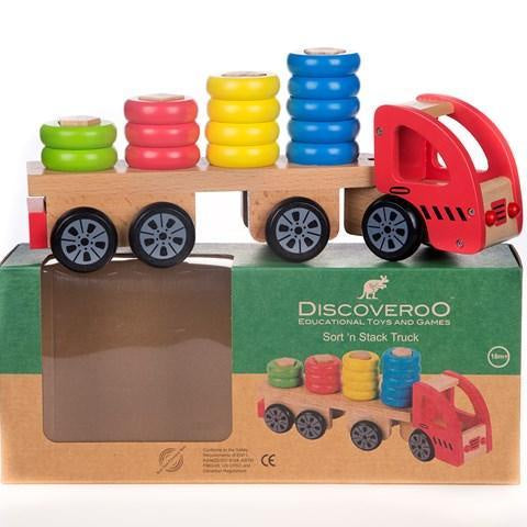 Discoveroo - Sort and Stack Truck