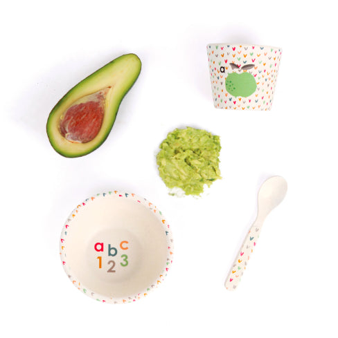 Love Mae - Baby Feeding Set / ABC