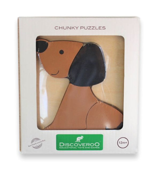 Discoveroo - Chunky Puzzle / Animal