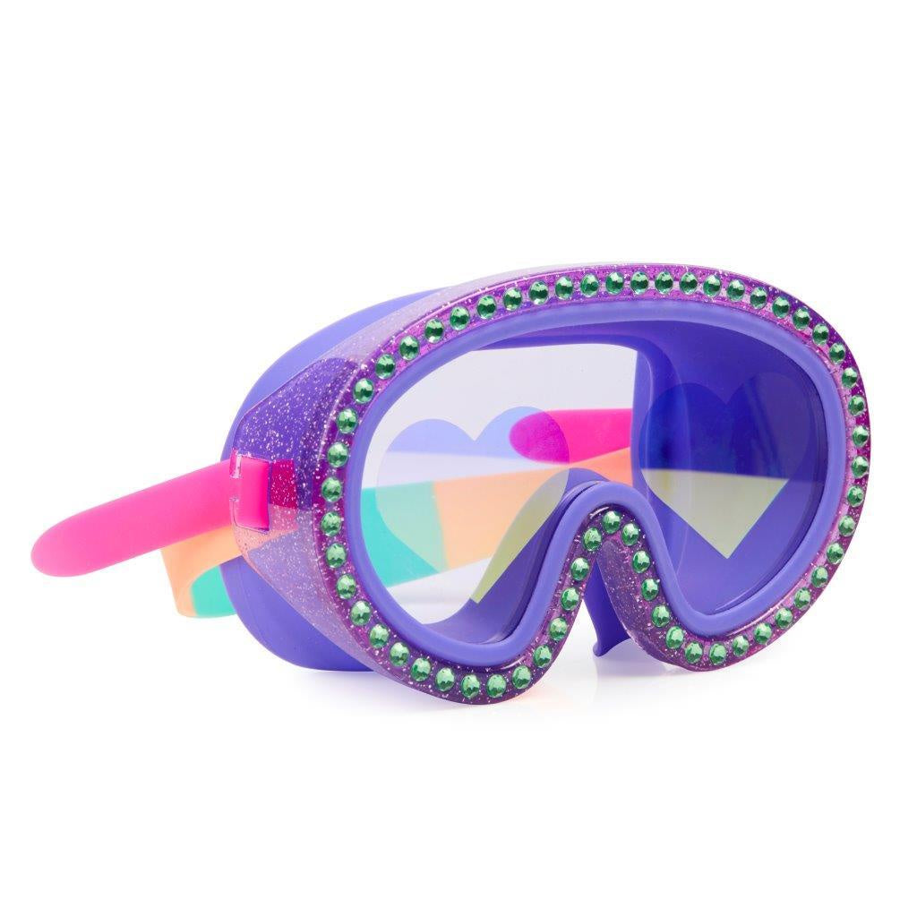 Bling2o Australia - Glitter Heart Swim Mask / I Love Blueberries