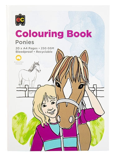 Educational Colours - Colouring Book