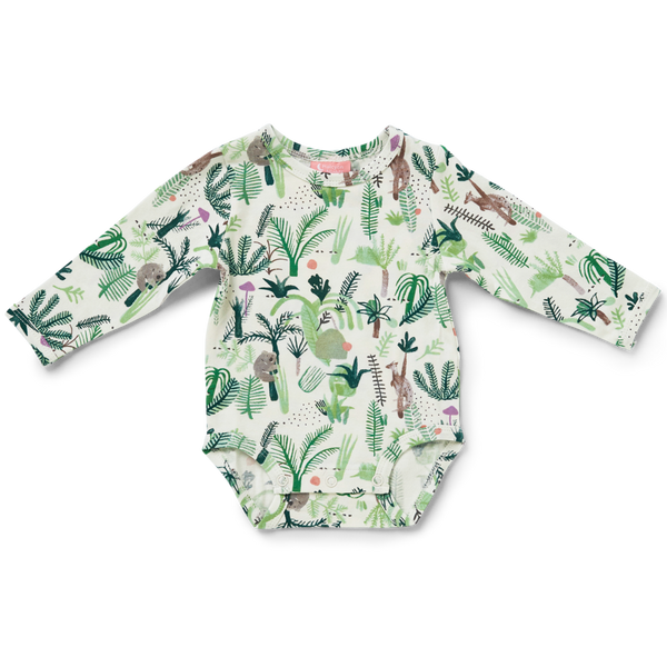 Halcyon Nights - Fern Gully Long Sleeve Bodysuit
