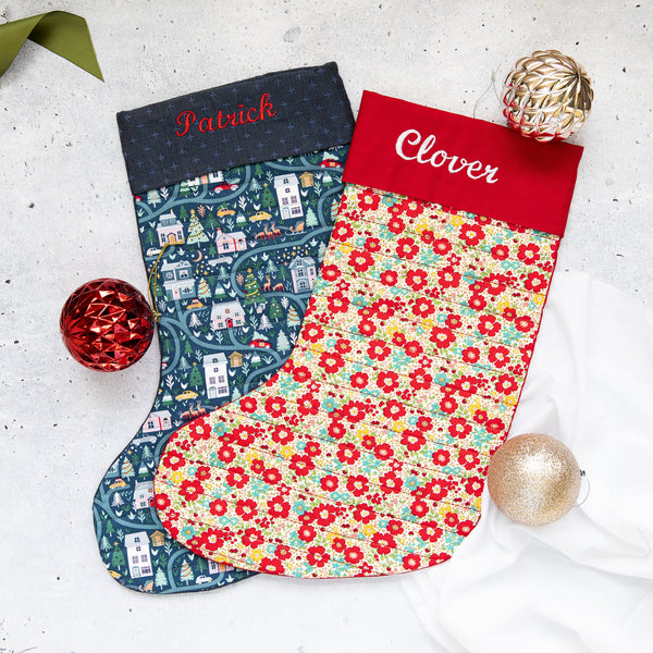 Curls Three - Christmas Stocking