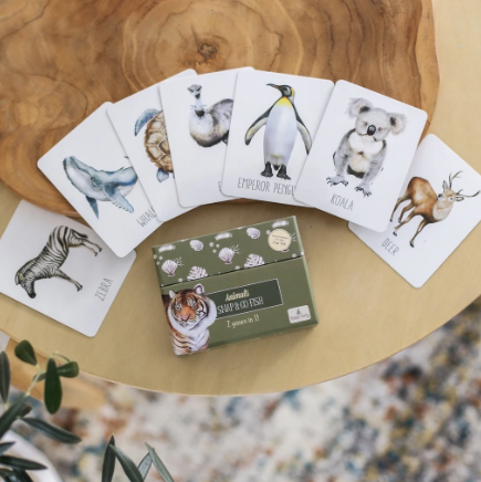 Modern Monty - Animals Snap & Go Fish