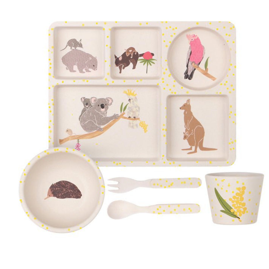Love mae - Divided Plate Set / Australiana