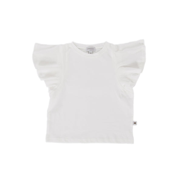Peggy - Belle Tee / White