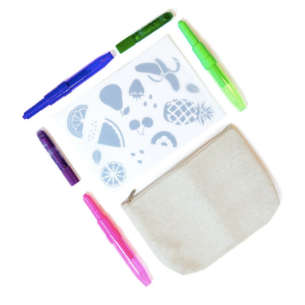Seedling - Fruit Stencil Pencil Case