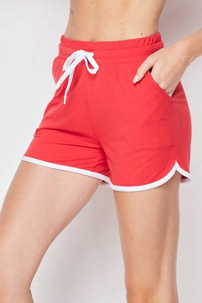 DRAWSTRING SHORTS WITH POCKET