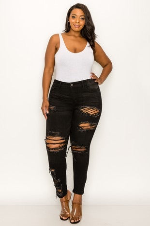 Kim Plus Size Highwaist