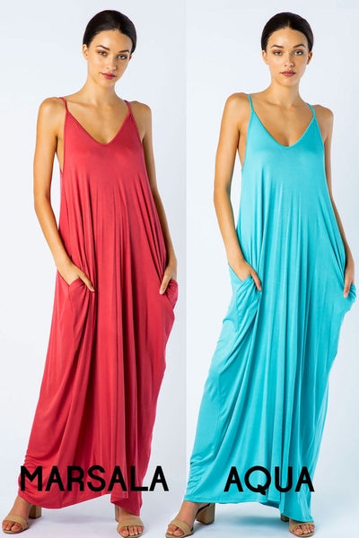 Essential maxi With Pockets