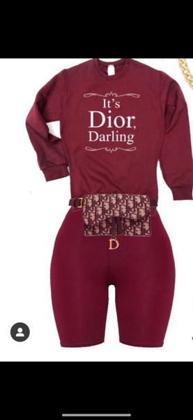 It's Dior Darling Set