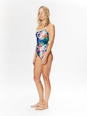 BAHIA ONE PIECE Navy ramito print-ONE PIECE-Seapia