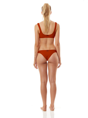 CRUZ BIKINI TOP burnt orange-BIKINI TOP-Seapia