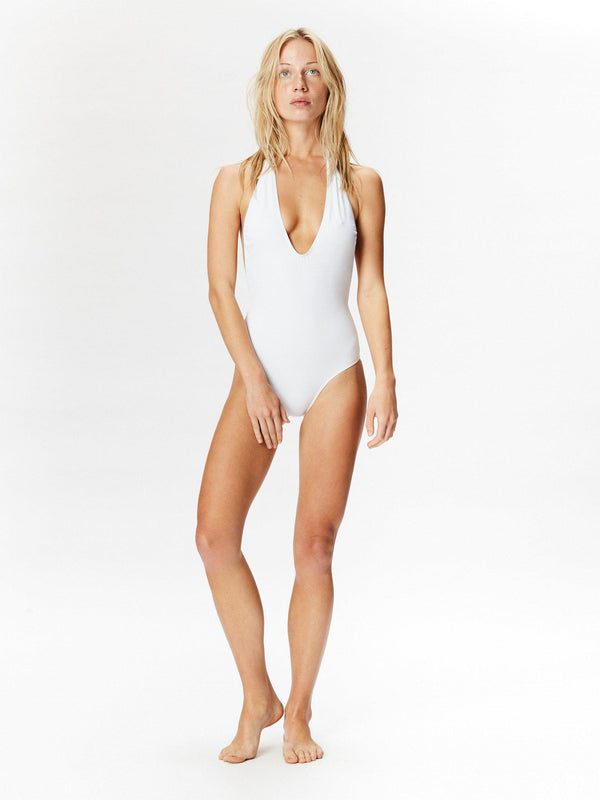 PLAYA ONE PIECE SWIMSUIT white-ONE PIECE-Seapia
