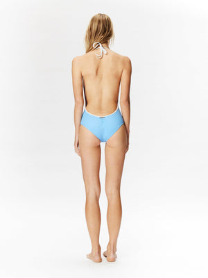 PLAYA ONE PIECE SWIMSUIT celeste-ONE PIECE-Seapia