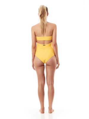 PUERTO ONE PIECE SWIMSUIT saffron-ONE PIECE SWIMSUIT-Seapia