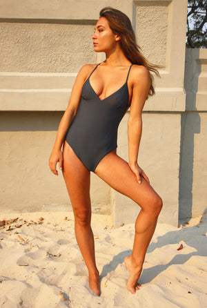 ALMA ONE PIECE SWIMSUIT gris