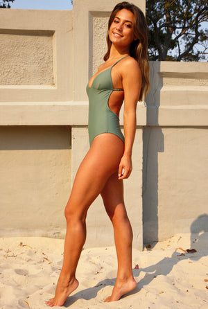 ALMA ONE PIECE SWIMSUIT sage