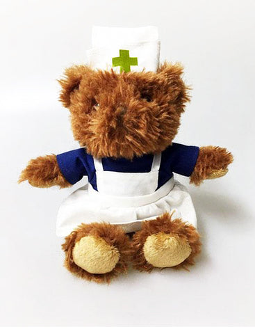 ACN nurse bear - pinafore