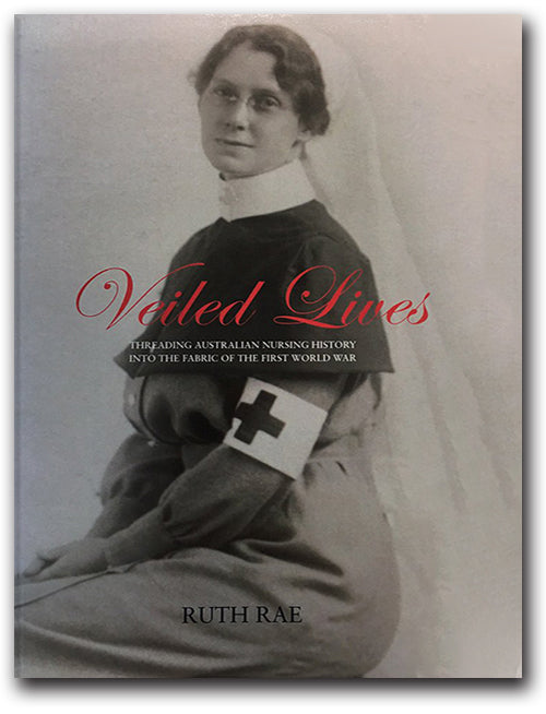 Veiled Lives by Dr Ruth Rae - front cover