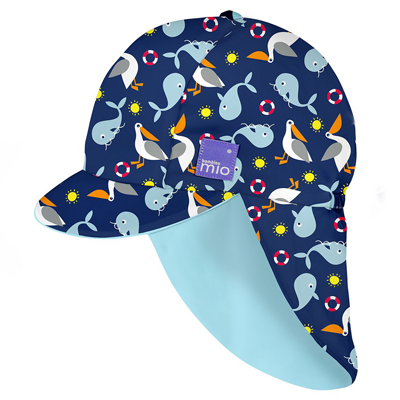 BAMBINO MIO REVERSIBLE SWIM HAT - NAUTICAL - AMA BABY SHOP