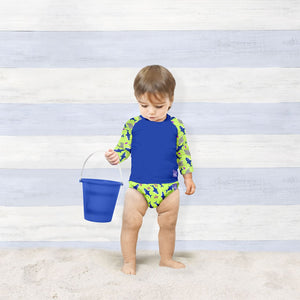 BAMBINO MIO REUSABLE SWIM DIAPER NAPPY - NEON SHARK - AMA BABY SHOP