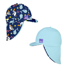 Load image into Gallery viewer, BAMBINO MIO REVERSIBLE SWIM HAT - NAUTICAL - AMA BABY SHOP