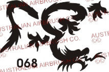 Stencil: 068 3in 74mm