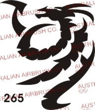 Stencil: 265 2.7in 68mm