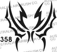 Stencil: 358 2.5in 63mm