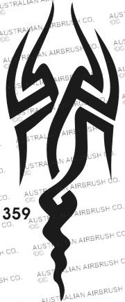 Stencil: 359 2.5in 63mm