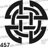 Stencil: 457 2.5in 63mm