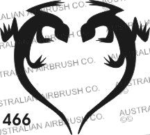 Stencil: 466 3in 76mm