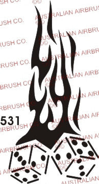 Stencil: 531 2.5in 63mm