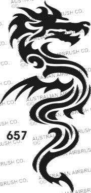 Stencil: 657 2.5in 63mm