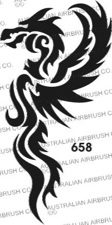 Stencil: 658 3in 77mm