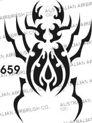 Stencil: 659 2.5in 65mm