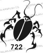 Stencil: 722 2in 50mm