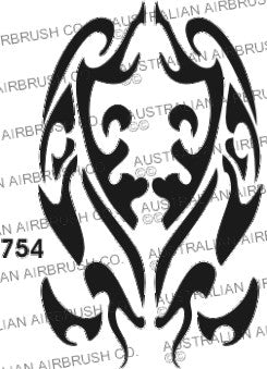 Stencil: 754 3in 76mm