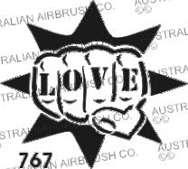Stencil: 767  3in  76mm