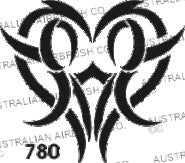 Stencil: 780 3in 76mm