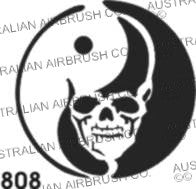 Stencil: 808 2.5in 63.5mm