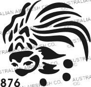 Stencil: 876 2.5in 64mm