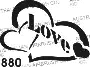 Stencil: 880 2.5in 64mm