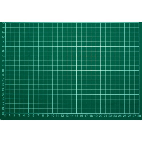 Cutting Mat: A4 Green 30 x 22 cm